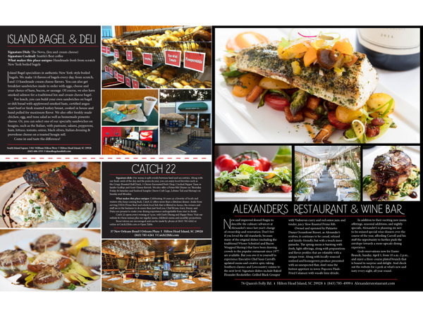 Hilton Head Magazines Ch2cb2 2018 Restaurant Round Up