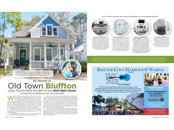 Hilton Head Magazines Ch2 Cb2 At Home In Old Town Bluffton