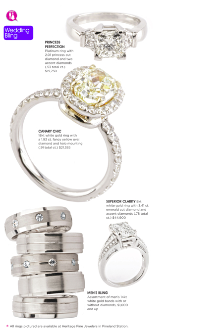 Hilton Head Magazines: CH2/CB2: Wedding Bling!