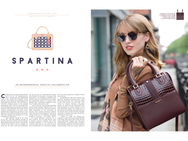 Spartina 449 Croc Satchel In Bordeaux With Removable Crossbody Strap Leather Handles And Jacquard Interior Lining Photography By Mark Staff