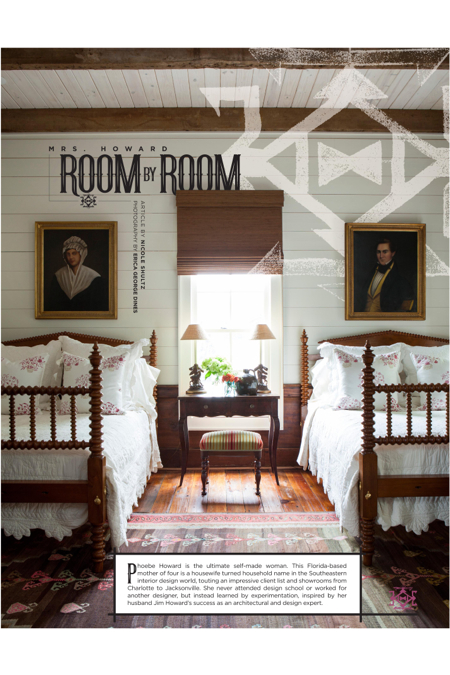 Hilton Head Magazines Ch2 Cb2 Mrs Howard Room By Room Self Taught Interior Designer Releases Second Book